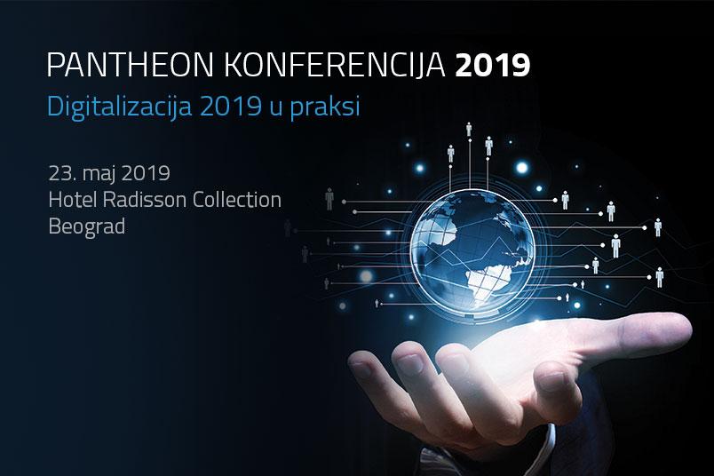 PANTHEON конференција: Дигитализација 2019