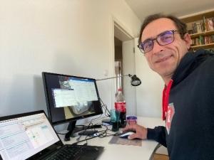 Andrej Mertelj - ivršni direktor Datalab Tehnologije - delo od doma